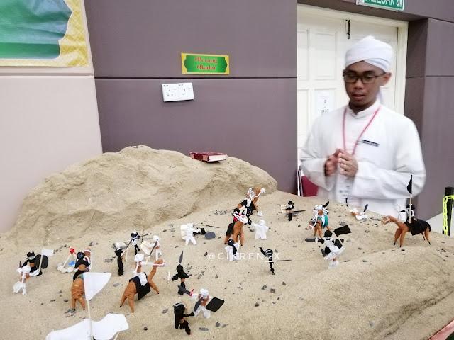 Pameran Artifak Rasulullah SAW di Program Mendekati Perjuangan Rasulullah saw