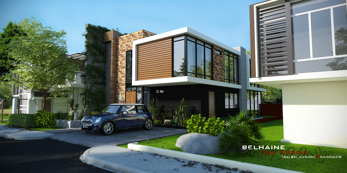 New Tutorial!! Vray For Sketchup Exterior rendering (Cassa Provenza