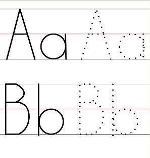 Preschool Letters Worksheets Trace - 1000 ideas about Letter ...