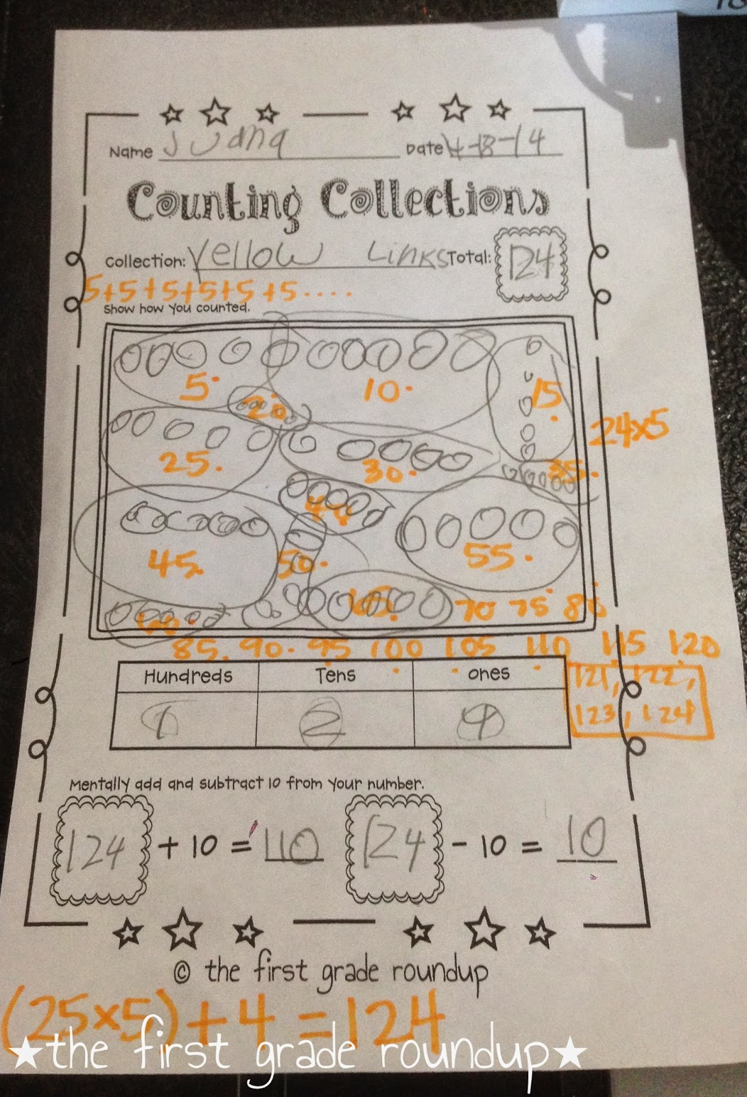 medium resolution of Math Junkie: Counting Collections - Firstgraderoundup