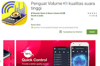 aplikasi penguat volume hp android