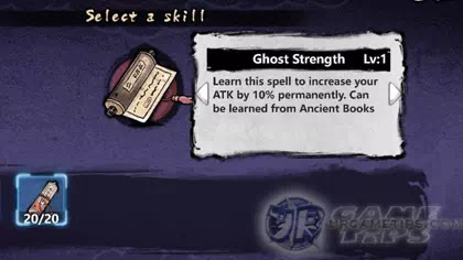 Yokai: Spirits Hunt - Skill Crafting and Enhancing, Combinations or Recipes
