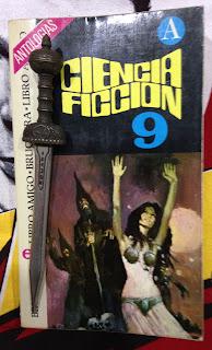 Portada del libro Ciencia ficción 9, de varios autores