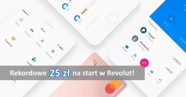 Revolut promocja 25 zł