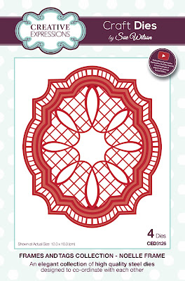 Festive Collection Noelle Frame Dies - CED3126