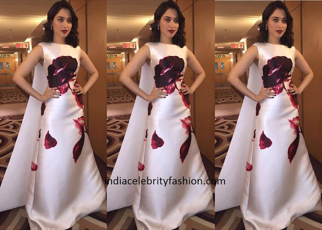 Tamannaah Bhatia in Isabel Sanchis Gown