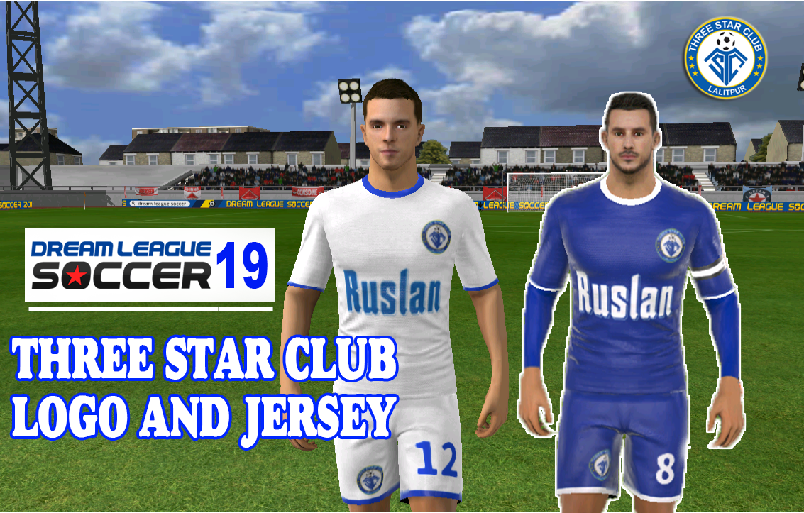 Nepal Dream League Soccer kit and logo (2019), Three star Club Dream League Soccer Kit 2019