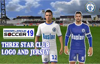 Nepal Dream League Soccer kit and logo (2019), Three star Club Dream League Soccer Kit 2019