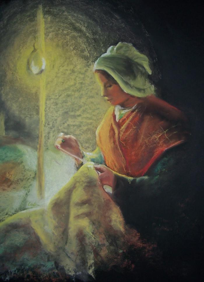 беспокойная художница. Antonia Contra
