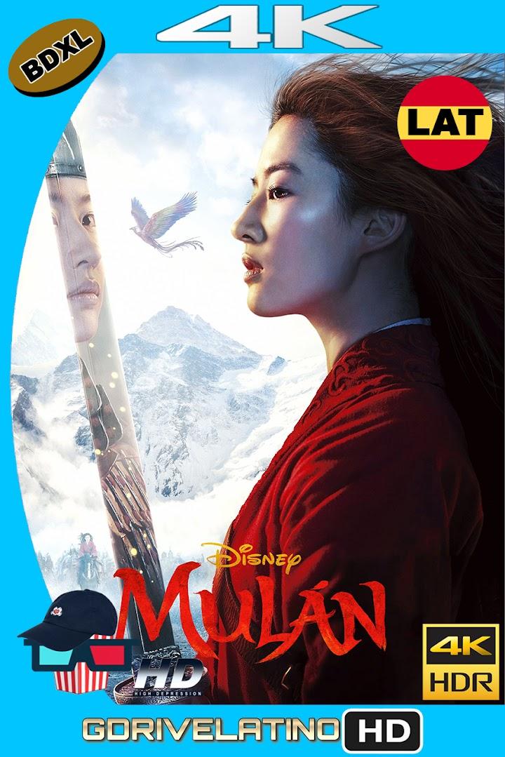 Mulán (2020) BDXL 4K UHD HDR Latino-Ingles ISO