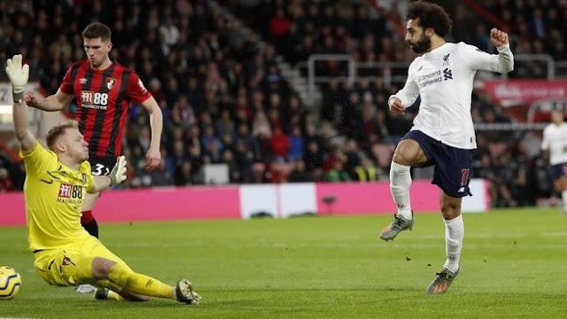 Hasil Liga Inggris 2019 Pekan 16 : Libas Bournemouth 3-0, Liverpool Kian Kokoh Di Puncak Klasemen