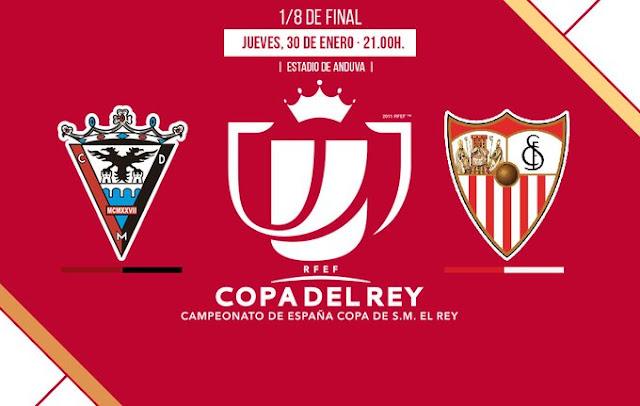 Mirandés Sevilla FC Copa