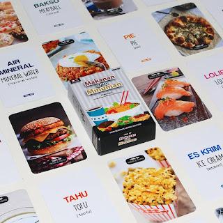 Flash Card Makanan & Minuman