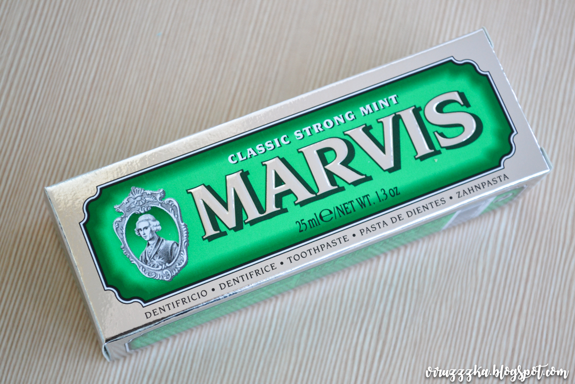Marvis Classic Strong Mint Toothpaste Review