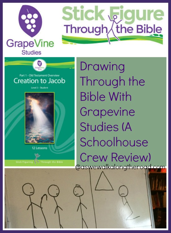 Review of homeschool Bible study lessons from Grapevine Studies