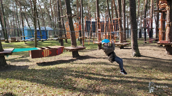 Park Linowy Linolandia Kryspinów