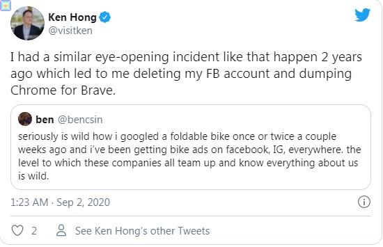 تخلى أحد المسؤولين التنفيذيين في LG عن متصفح Google Chrome لسبب مفاجئ