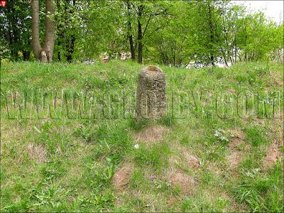 Гора Миндовга. Старые захоронения