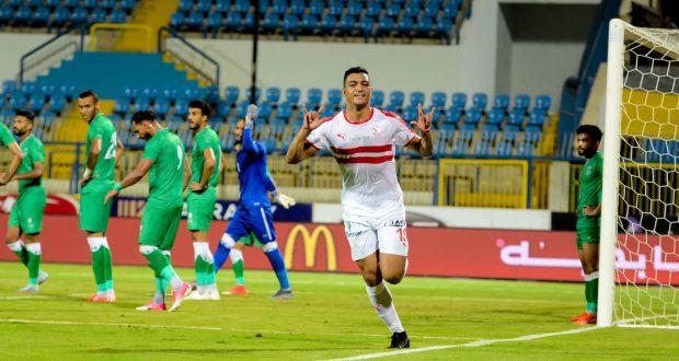 مصطفي محمد هداف بطولة كأس الأمم الإفريقية للشباب تحت 23