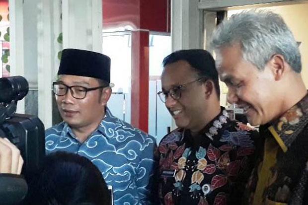 Survei Indikator: Anies, Ridwan Kamil dan Ganjar Unggul atas Kepekaan Bencana
