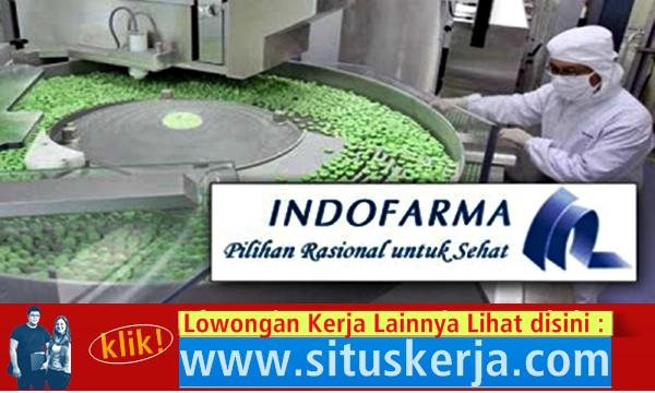 Info Tentang Lowongan Kerja PT. Indofarma (Persero) Tbk (5 Posisi)