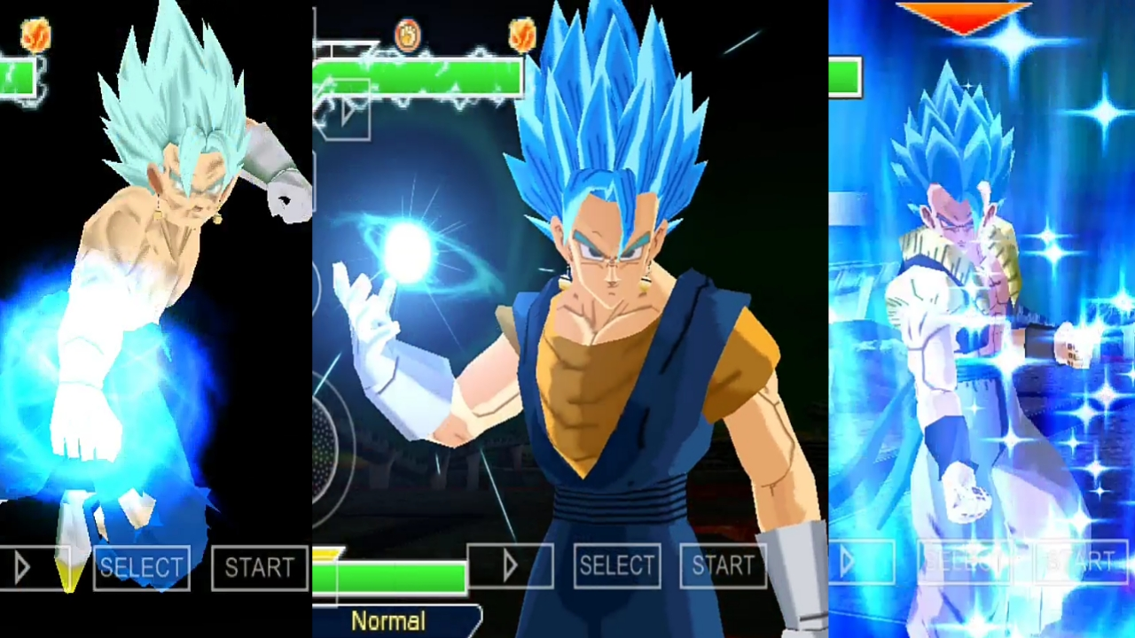 Goku And Vegeta Fusion