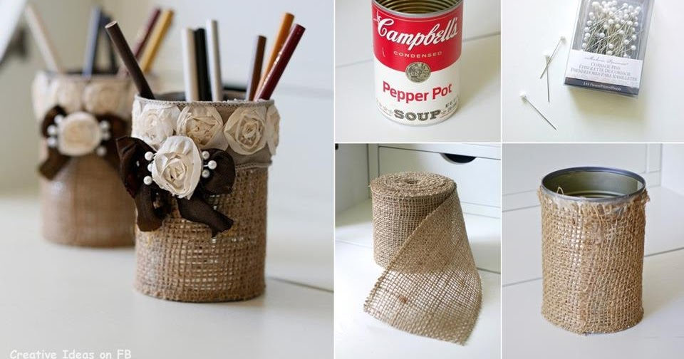 Amazing Creativity: Creative Ideas Shabby Chic Burlap