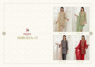 Deepsy imorzia 12 Georgette pakistani Suits wholesale