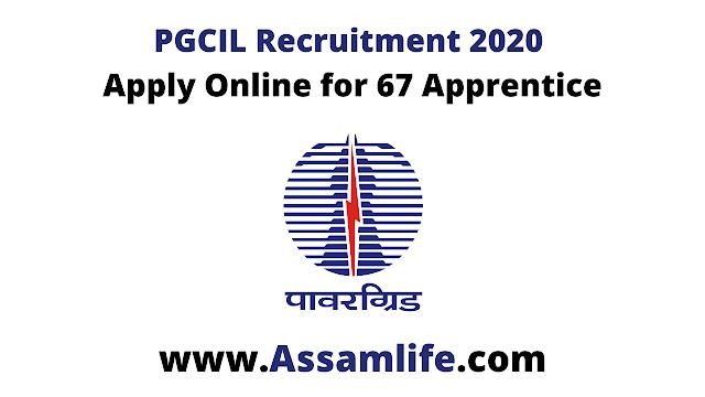 PGCIL Recruitment 2020 - Apply Online for 67 Apprentice