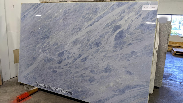 Iceberg Blue Quartzite NYC