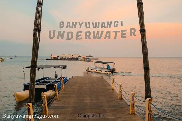 Bangsring Underwater, juara 2 Trisaksi tourism award 2021 kategori Desa Kreatif