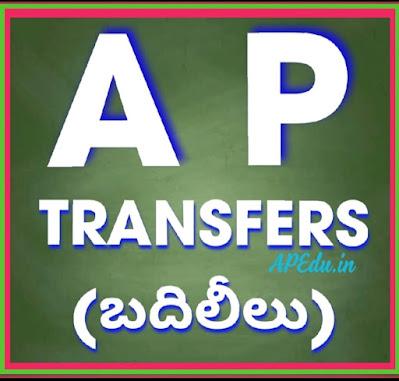 AP Teacher Transfers 2020.