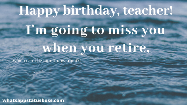 birthday wishes for maths teacher