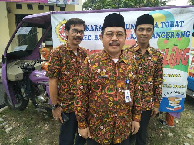 Camat Balaraja, Ingatkan Warga Datang Ke TPS 27 Juni 2018.