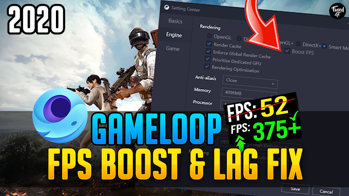 Gameloop Lag Fix And FPS Boost For All Games
