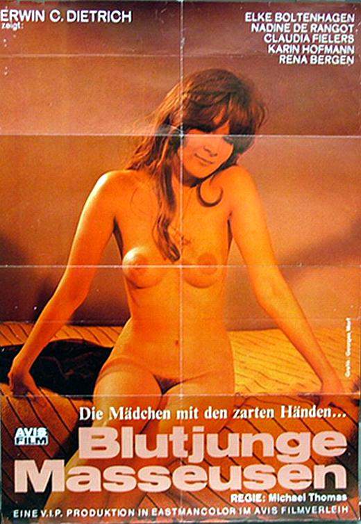 Blutjunge Masseusen 1972 Erwin C Dietrich