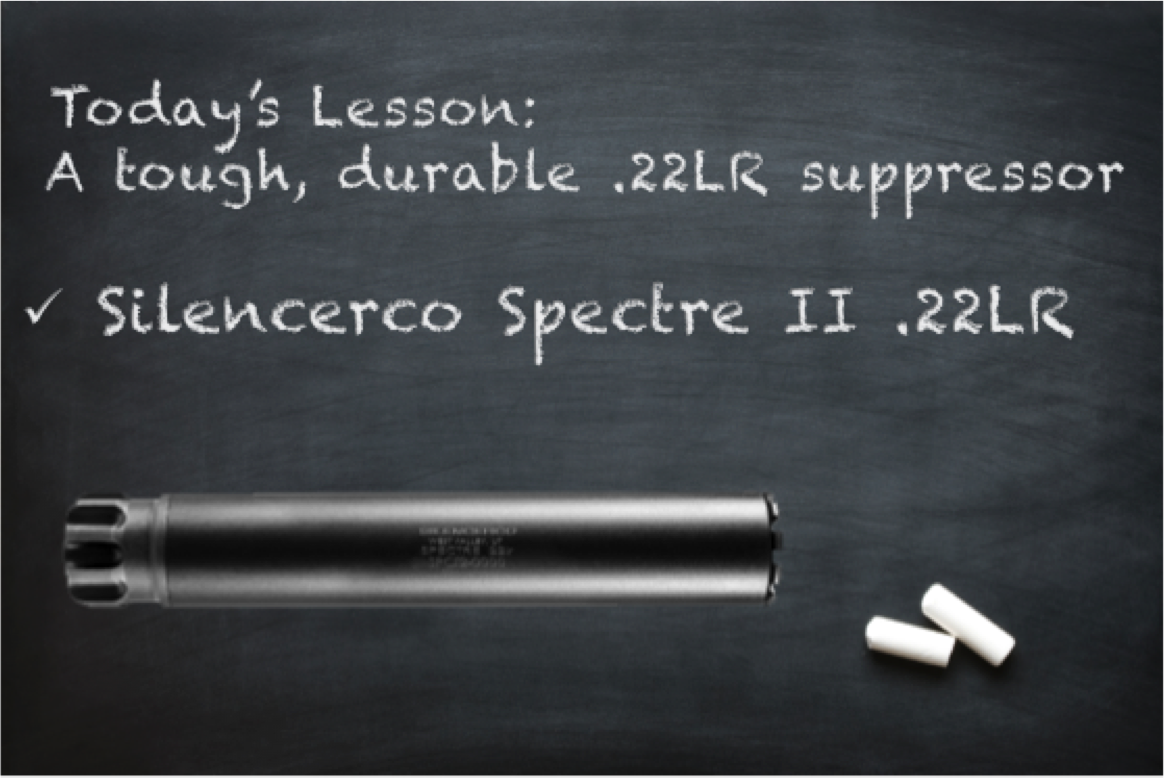 NC SILENCER: Review of the Silencerco Spectre II .22LR Suppressor