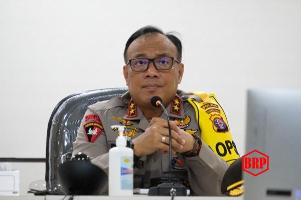 Antisipasi Karhutla, Kapolda Kalteng Lakukan Vicon dengan GAPKI Kalteng