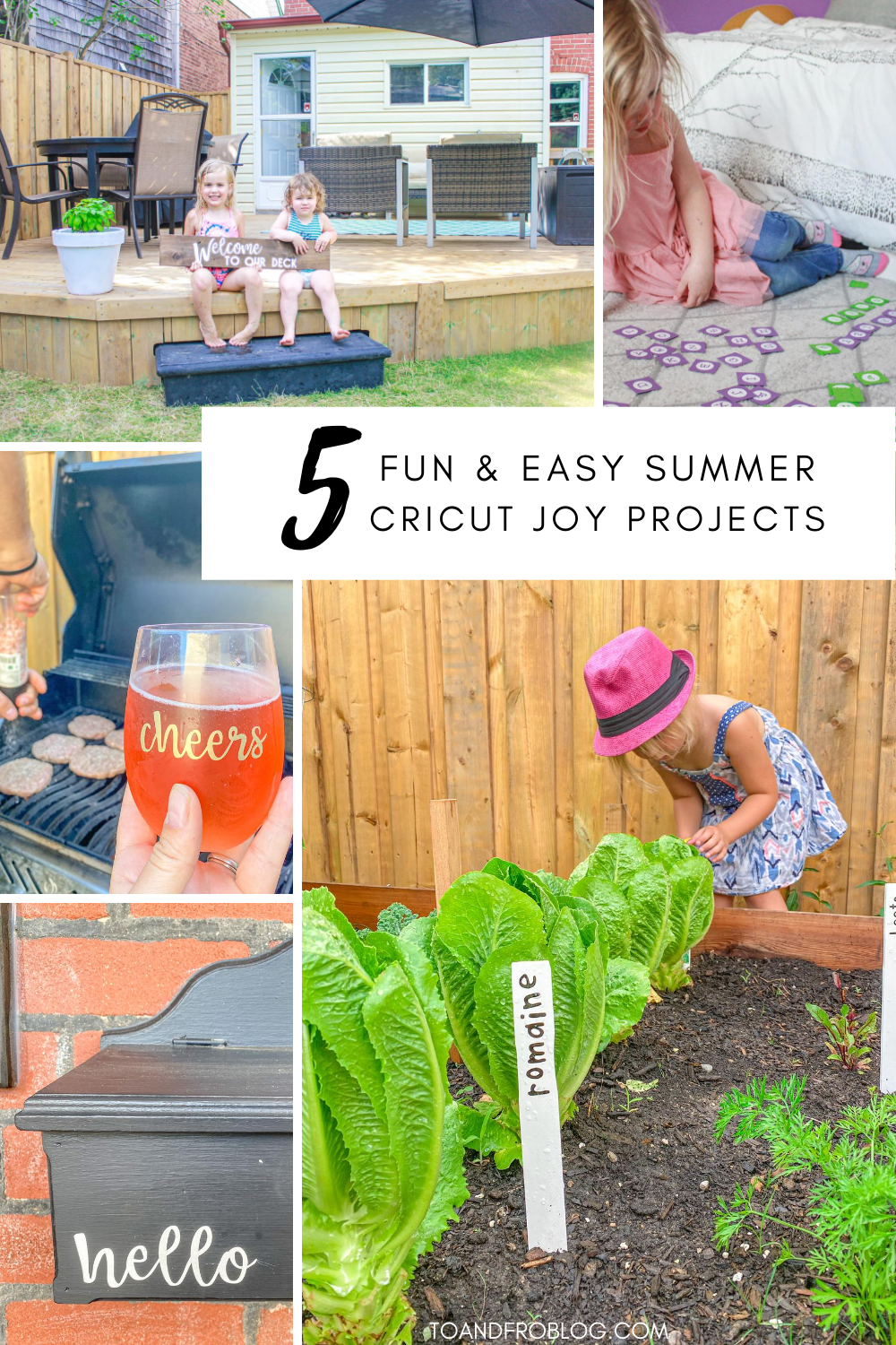 5 Fun & Easy Summer Cricut Joy Projects
