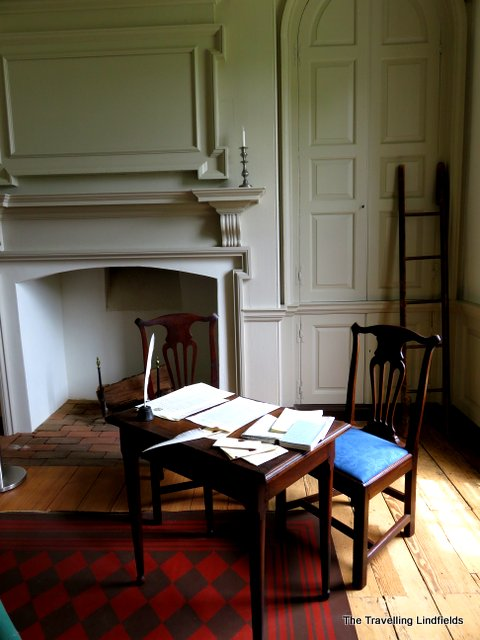 Writing desk at Gunston Hall