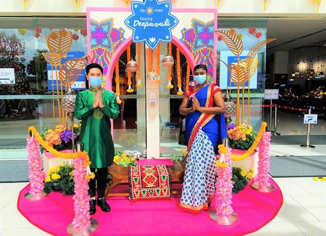 Deepavali Festive Décor,  Pavilion Reit Malls, Pavilion Kuala Lumpur, Intermark Mall, Da Men Mall, Deepavali Decor, Deepavali in Malaysia, Lifestyle