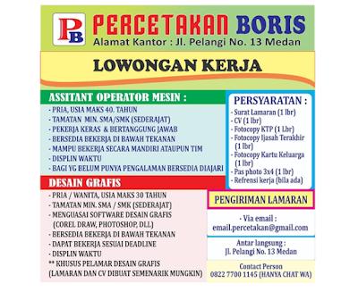 Loker Terbaru Medan November 2019 Lulusan SMA SMK November 2019