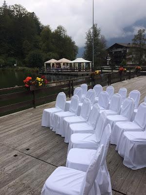 Ceremony on the lake, Texas wedding in Germany, Bavaria, Garmisch-Partenkirchen, Riessersee Hotel, wedding destination location, wedding planner Uschi Glas, alps and lake-side wedding