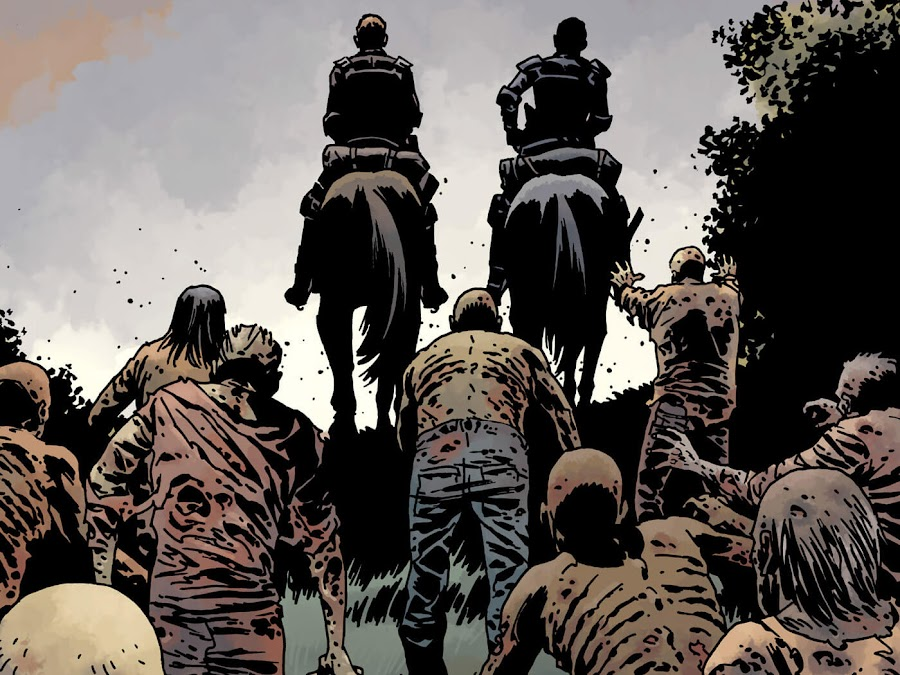 the walking dead whisperers robert kirkman