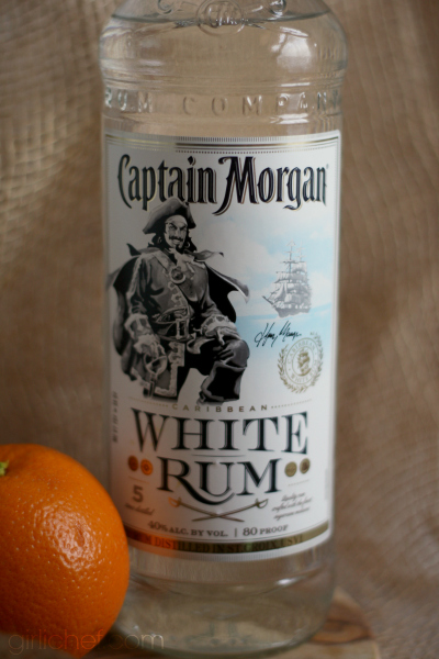 Captain Morgan White Rum - Rum Runner Sangria #CaptainsTable | www.girlichef.com