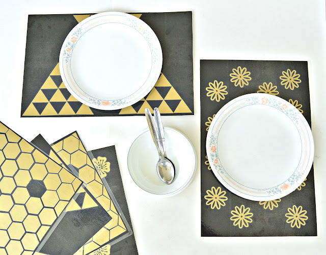 Table setting ideas including placemats