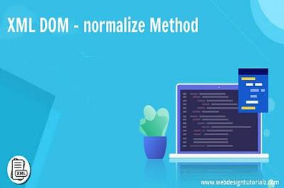 XML DOM - normalize Method