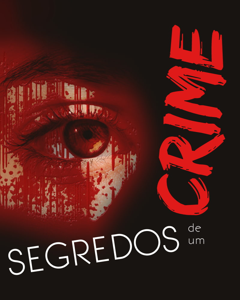 Capa da série Segredos de um Crime, de Vítor Rodrigues