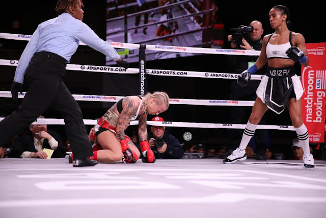 Amanda Serrano Defeats Heather Hardy