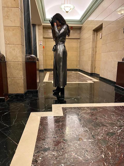Kelly Fountain, Oscars awards ceremony, new york, fashion week
